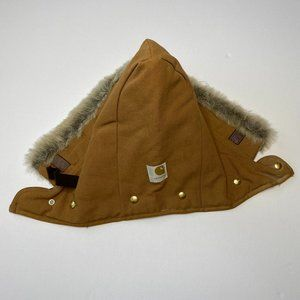 Carhartt Accessories - Carhartt Adult Brown Attachable Hood with Fur OS